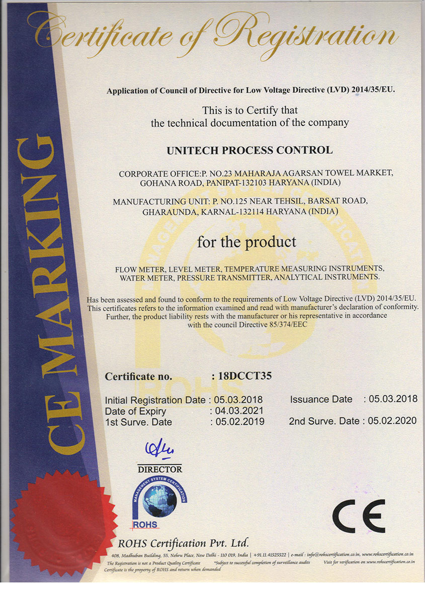 first-certificate